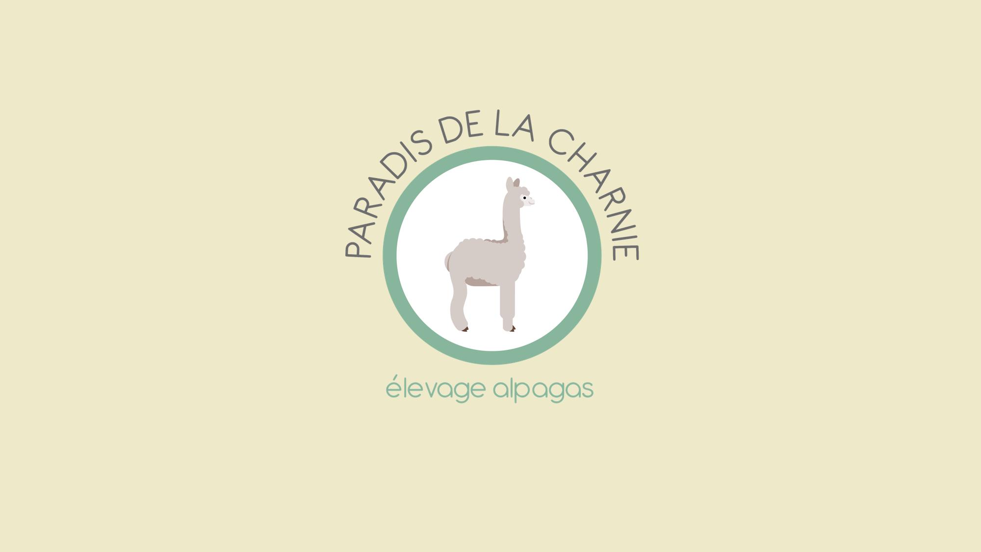 new logo alpaga paradis